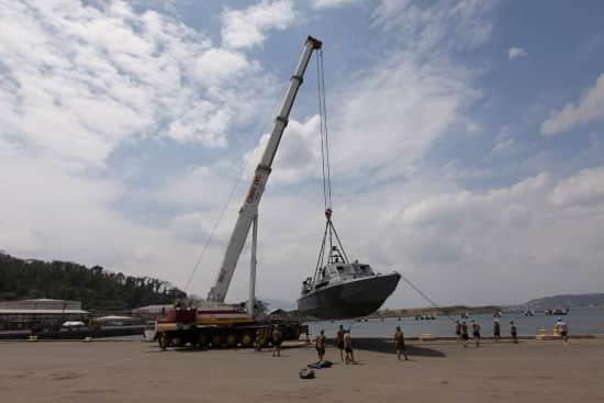 Leasing of 300T Crane for Balikatan