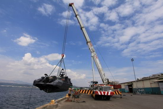 Leasing of 300T Crane for Balikatan