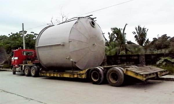 Transport to Lafarge Continental Cement Plant