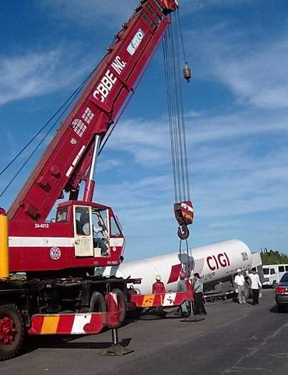 Project - Lifting of VIE Tank for Air Liquide 1