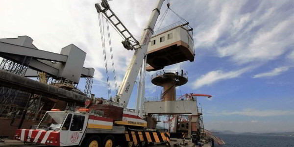 Retrieval of Crane