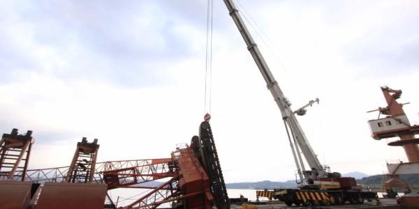 Retrieval of Crane