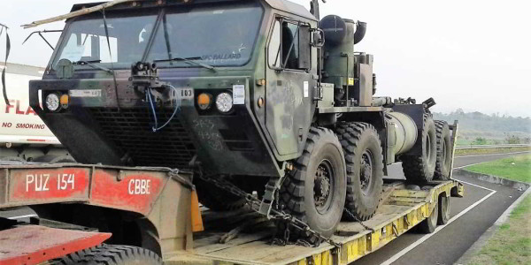 Transport of US Army Equipment