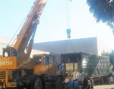 Unloading & Lifting of Transformers for PICC