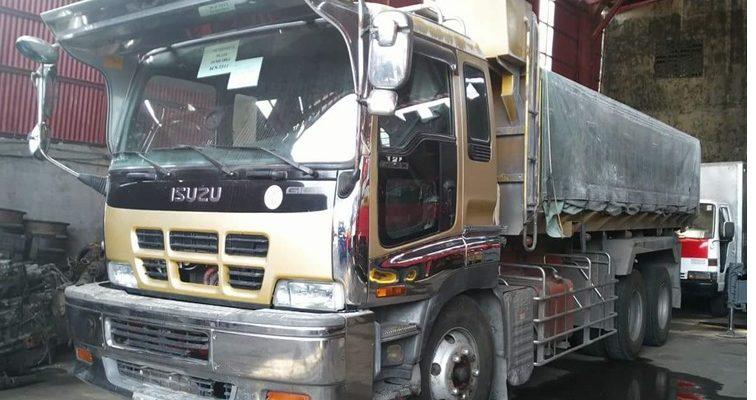 Isuzu Dump Truck 6WF1